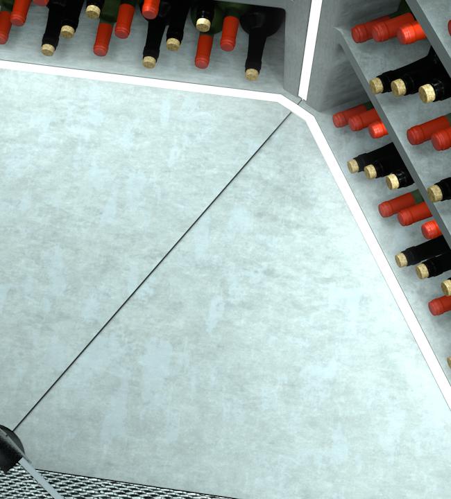 Cellar Base Floor LED Lighting