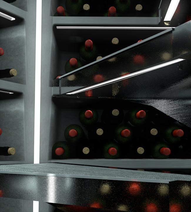 Cellar Under Step LED