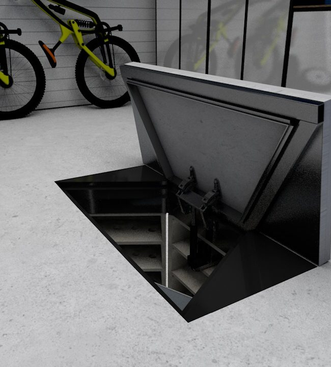 Garage GRP Rectangular Door